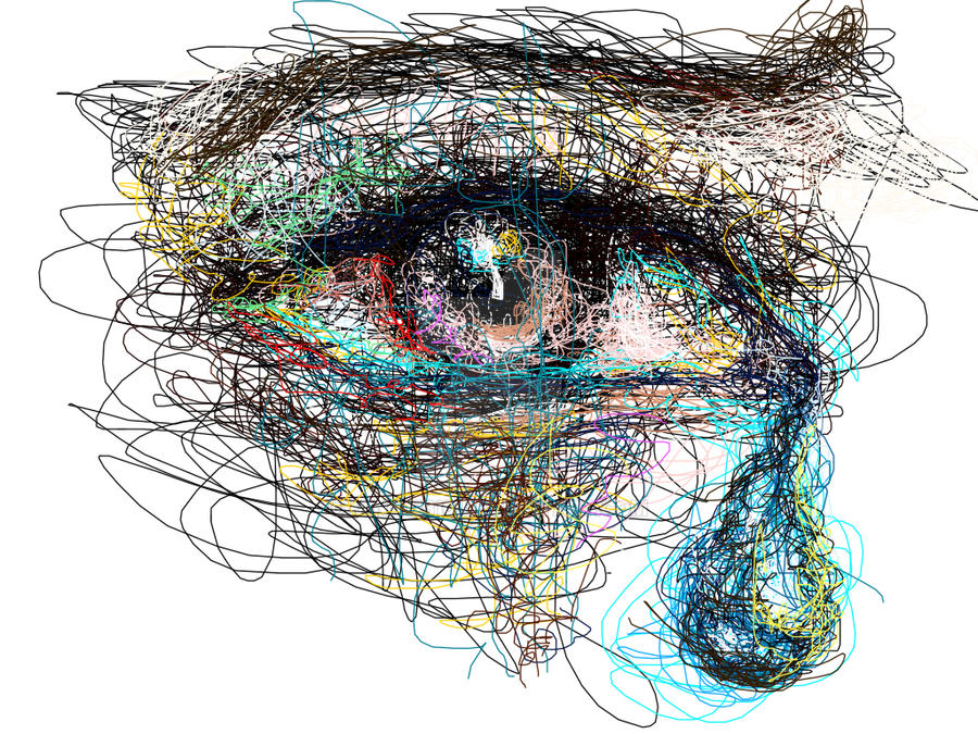 Scribble Drawing In Art Therapy : Scribble eye by mina on deviantart