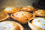 Delicious homemade meatpies