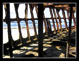 Maheno Shipwreck by Kookaburragirl