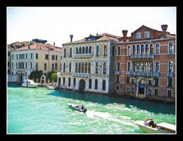 Grand Canal in Venice by Kookaburragirl