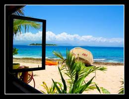 Fiji from my Window by Kookaburragirl
