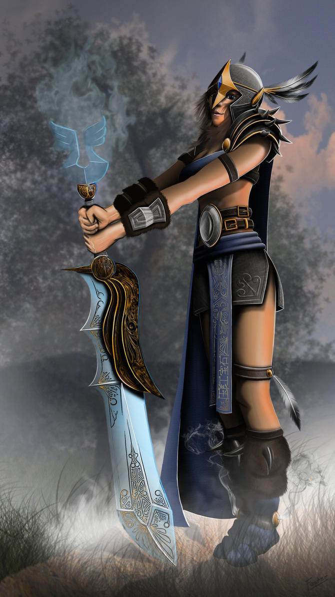 Runescape Dutchess. by F0st3rArt