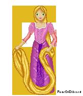 Contest Prize: Rapunzel Pixel by PearOfDiscord