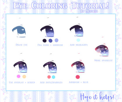 Eye Coloring Tutorial