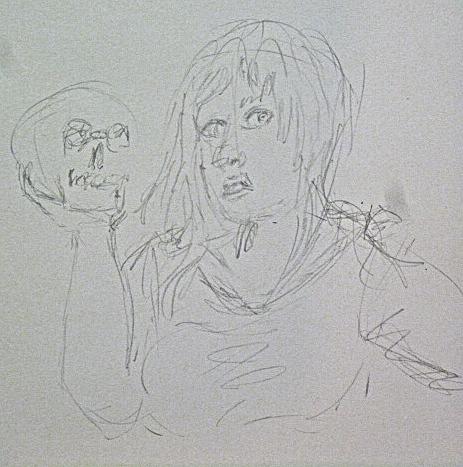 30 sec pratice sketch by cabcyco