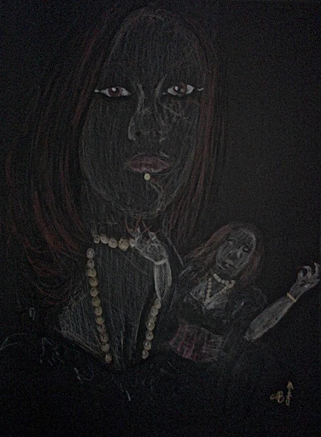 French Goth by cabcyco
