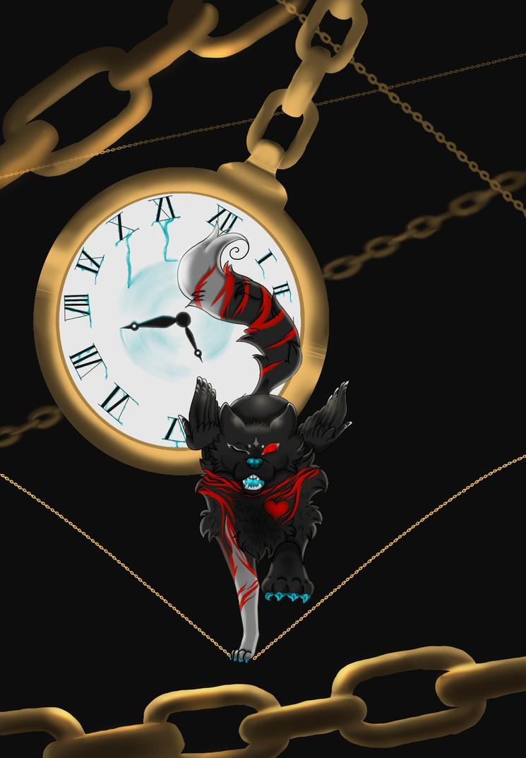 fox clock - running time by Yami-Yoru