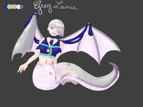 Grey Lamia CLOSED