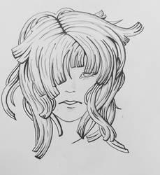 Anime head by Yami-Yoru