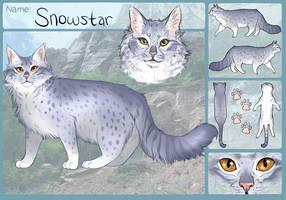 Snowstar Ref by PatchyFallenstar