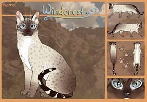 Windcrest Ref by PatchyFallenstar