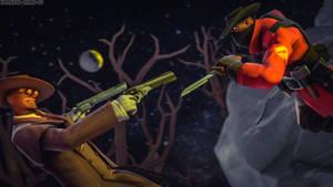[SFM] Vampire vs Hunter