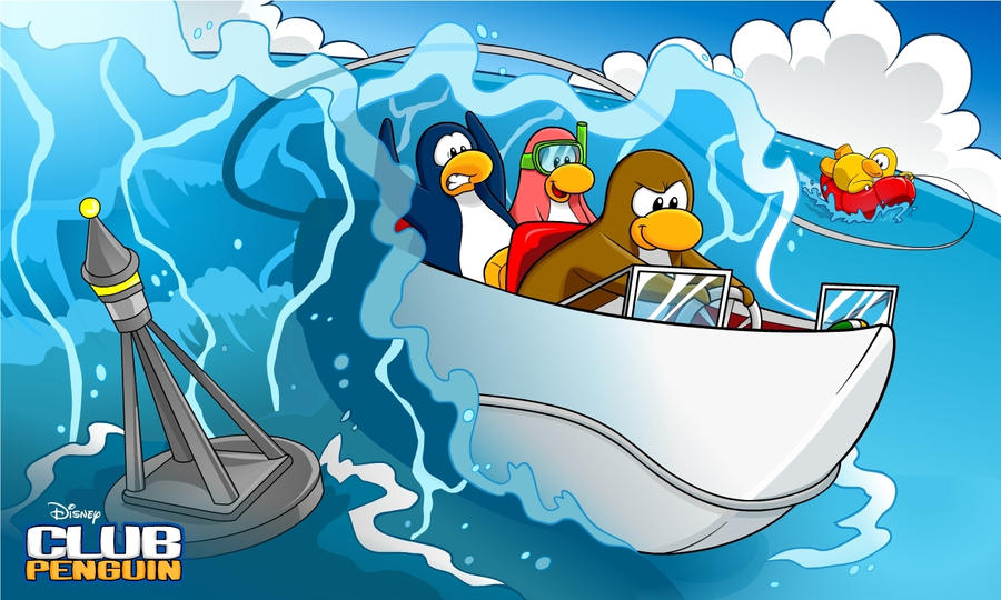 penguin wallpapers. Cartoon Penguin Wallpaper for