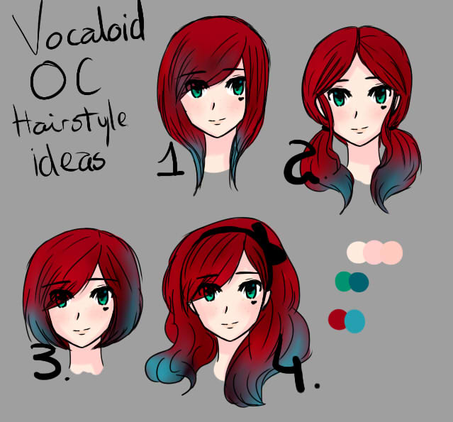 HD Wallpapers Anime Hairstyles And Personality Designihdfmobilecf - Anime hairstyle and personality