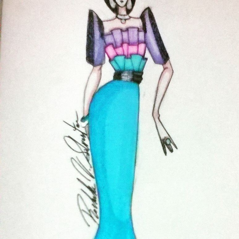 Fashion Design Concept For Filipiniana Costume 3 By Rrlvsd1990 On Deviantart
