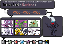 Darkrai's Trainer Card by Poke-Master250