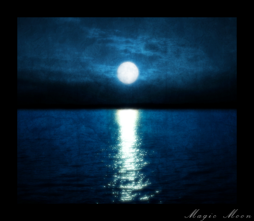 Magic Moon by DistressedDove