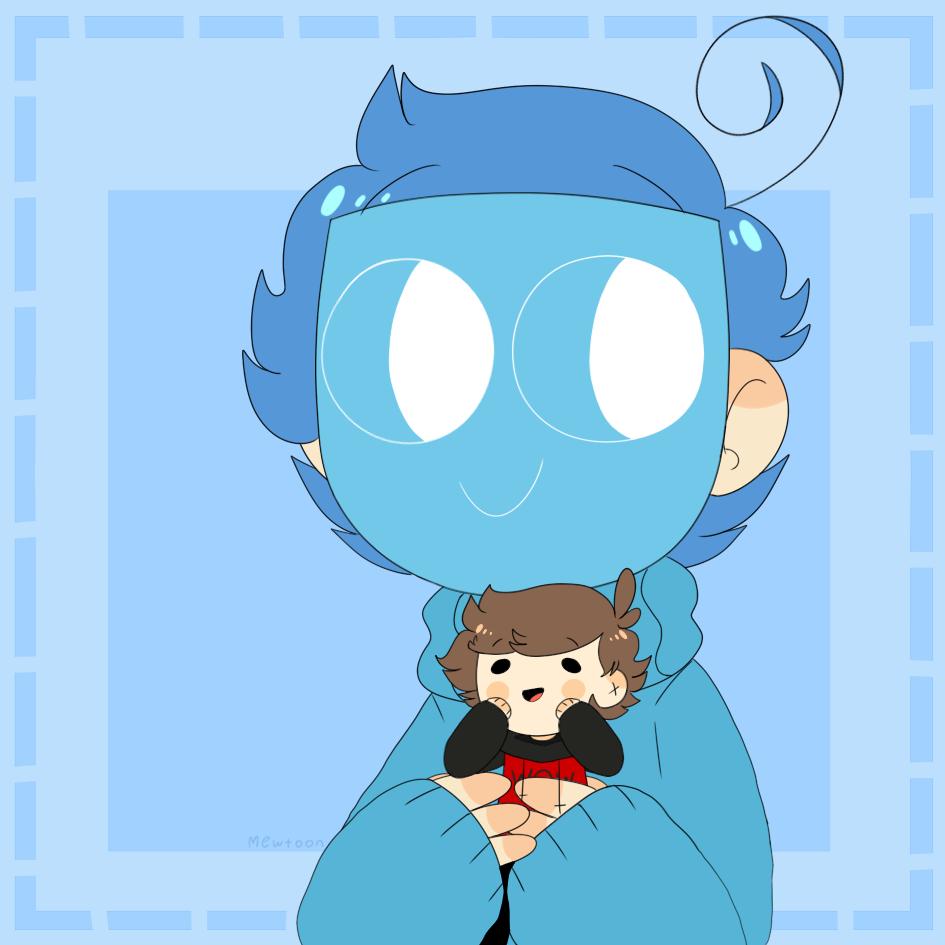 Sinka..? Blue...? ':D by mew-toon