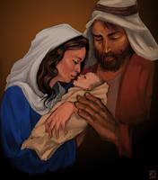 dear tiny Jesus by The-Z