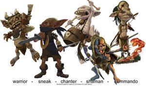 Commission -- Sandpoint Goblins