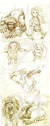 Damn Ninja: Ino vs. Kiba by The-Z