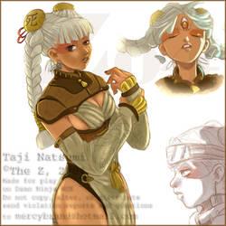 OC: Taji Natsumi by The-Z