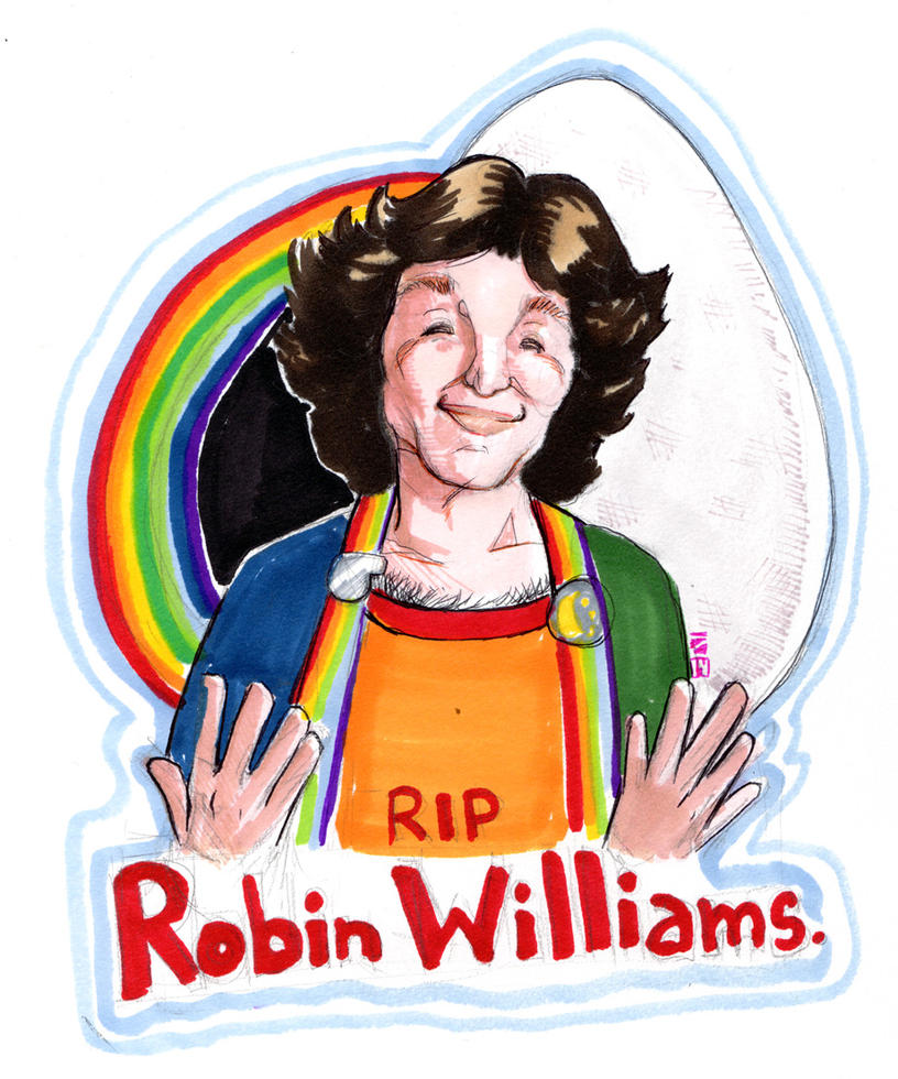 RIP Robin Williams by The-Z