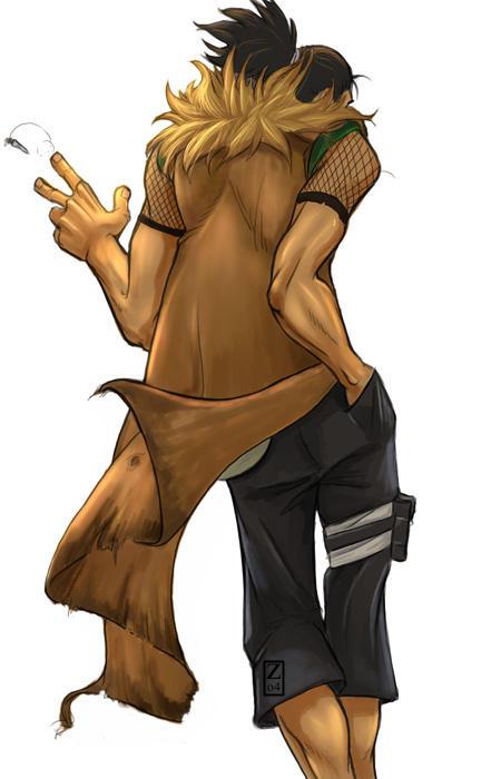 Naruto Fanart: Elder Nara by The-Z