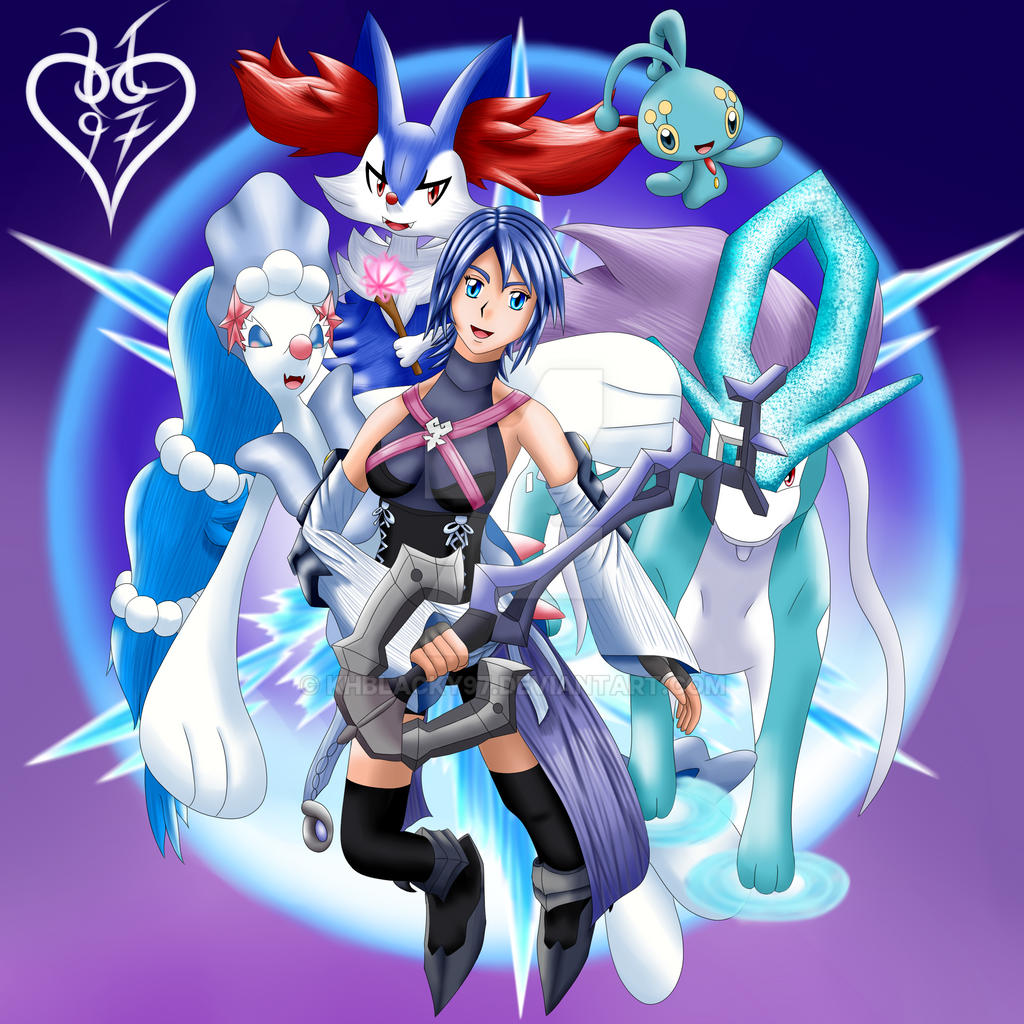 Kingdom Hearts / Pokemon crossover 1 by KHBlacky97 on