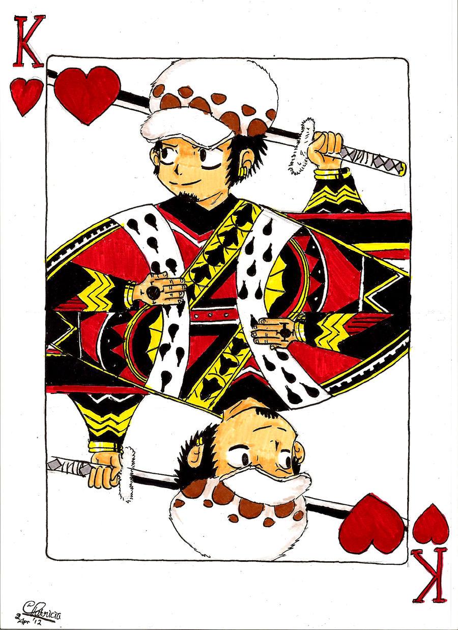 Trump Card King King of Hearts Card Trump