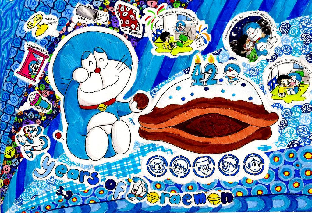Happy Birthday, Doraemon by PATotkaca on DeviantArt