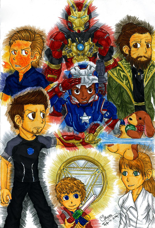 Iron Man 3 by PATotkaca