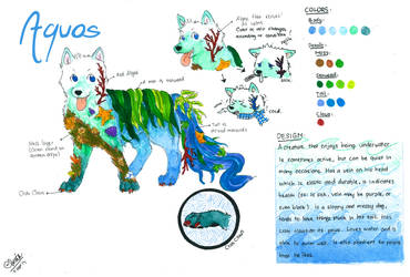 Aquos Ref Sheet by PATotkaca