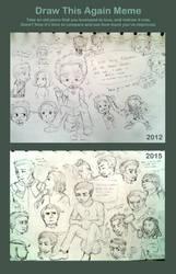 Draw It Again Meme: I Miss Being Assembled WIP