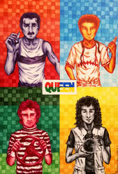 Queen - Hot Space by PATotkaca