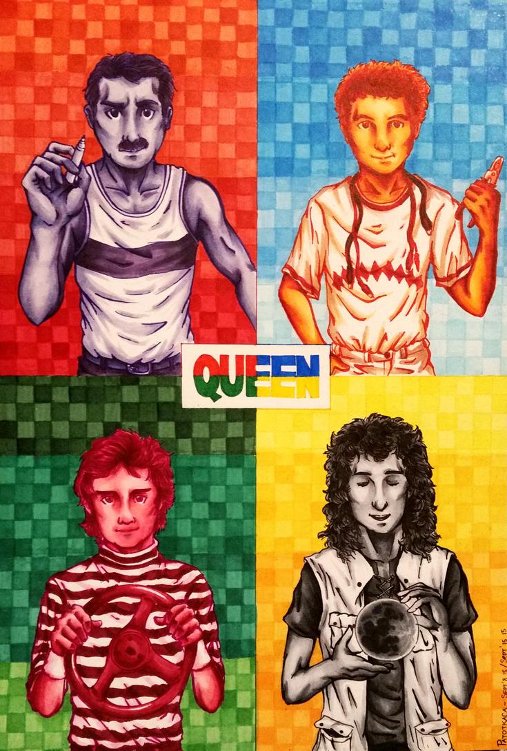 Queen - Hot Space by PATotkaca