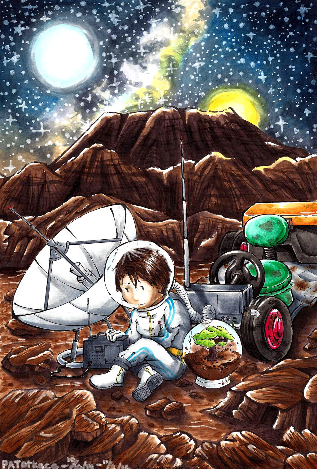From Mars to Earth by PATotkaca