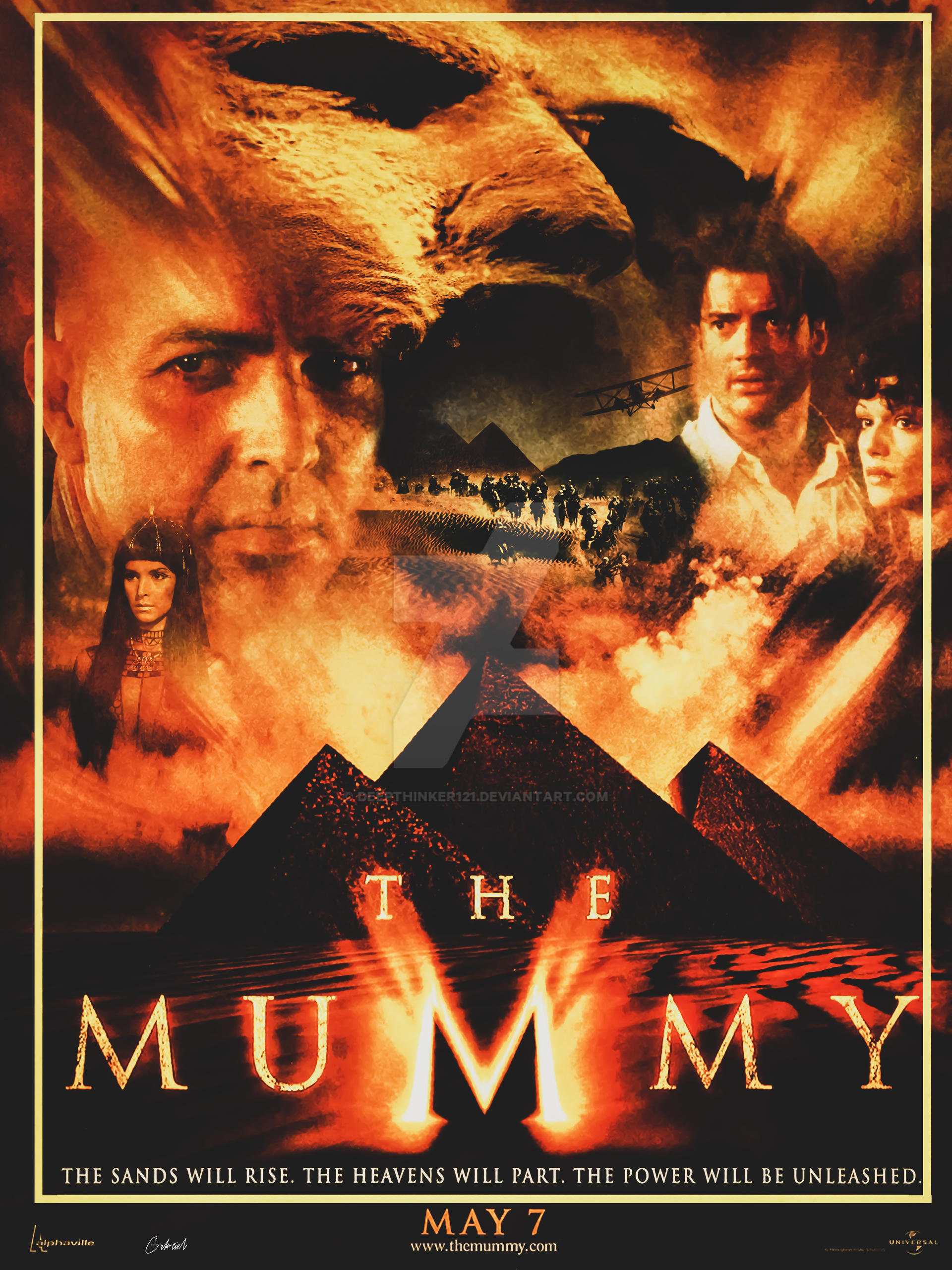 The Mummy 1999 Poster By Deepthinker121 On Deviantart