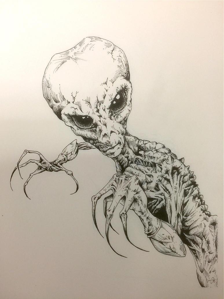 Evil Alien by Rockstaricky