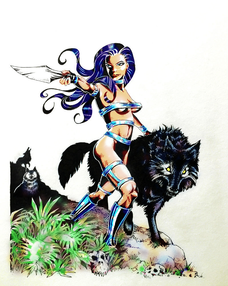 Syren the Wolf Queen by Rockstaricky