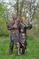 Eowyn and Eomer 2 by Lady--Eowyn