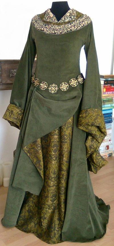 Eowyn Green Gown 1 by Lady--Eowyn