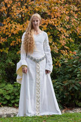 Eowyn White Wool Gown 5 by Lady--Eowyn