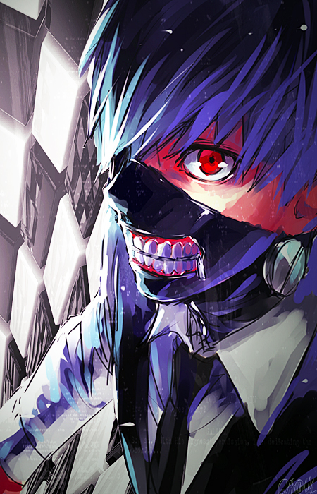 Fondo para celular kaneki by caruu chin on deviantart - Sites de animes para celular ...