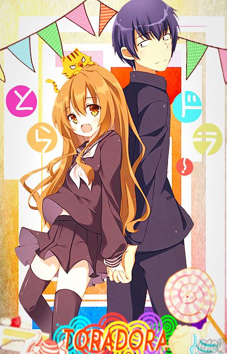 Fondo para celular anime toradora by caruu chin on deviantart - Sites de animes para celular ...