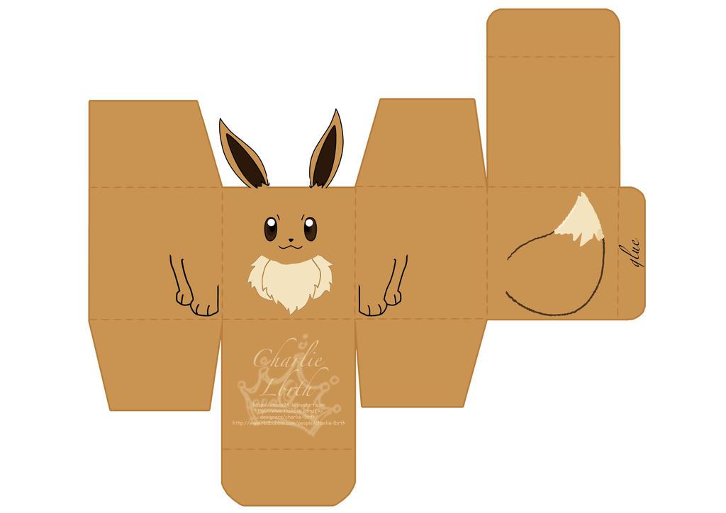 Papercraft eevee by chaaa94 on deviantart