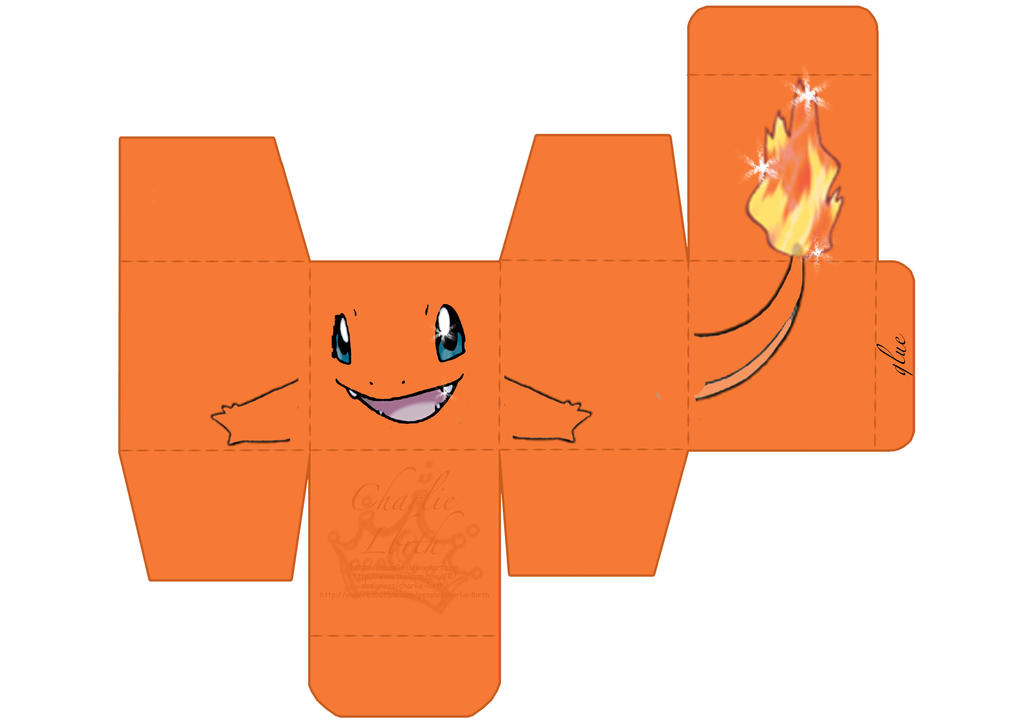 Papercraft Charmander By Chaaa94