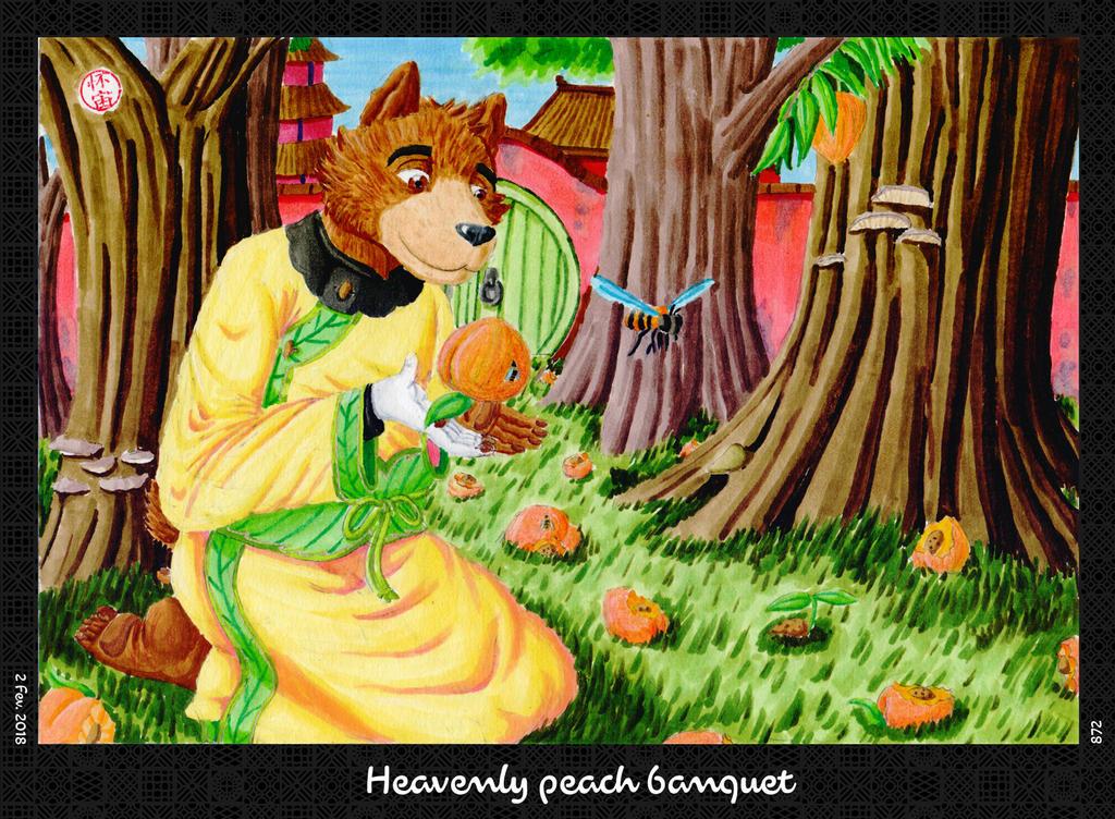 Heavenly Peach Banquet by HweiChow
