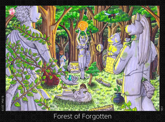 Forest of Forgotten by HweiChow