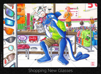 Shopping New Glasses